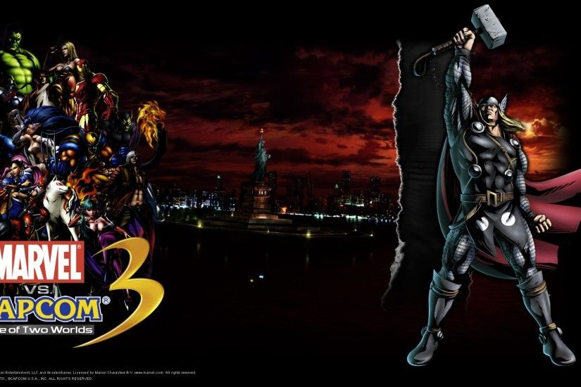 #1899538, marvel vs_ capcom 3 fate of two worlds category - wallpapers free  marvel