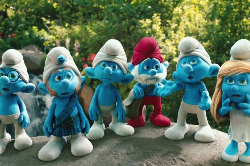 2011 The Smurfs Movie HD Wallpaper 4