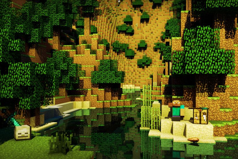 Minecraft Creeper Full High Definition HD Wallpapers