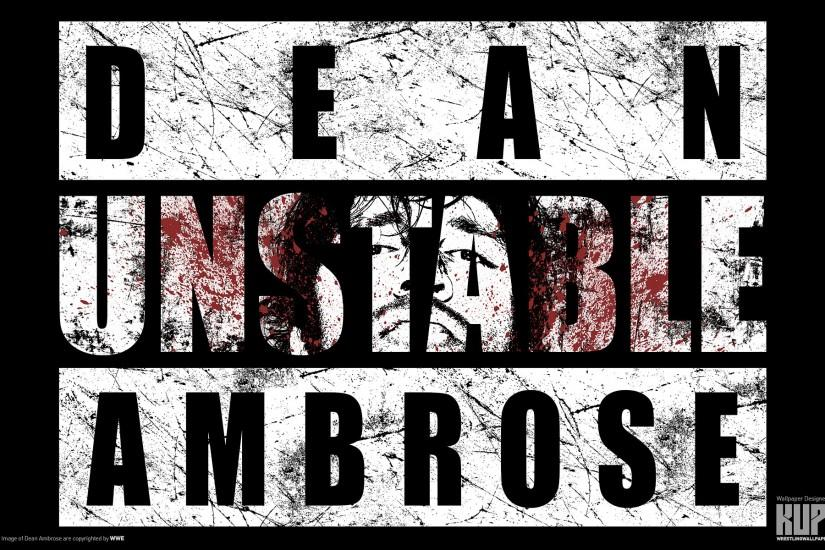 Pin Unstable Dean Ambrose Logo on Pinterest