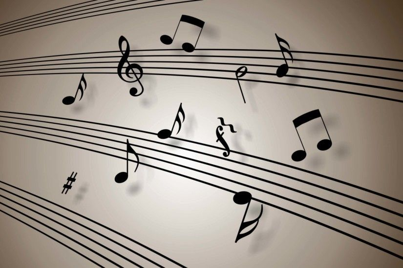 Free Music Notes Wallpaper 16210