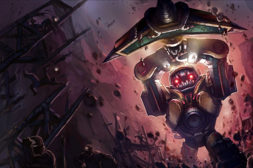 Subterranean Nautilus Splash Art League of Legends Artwork Wallpaper lol