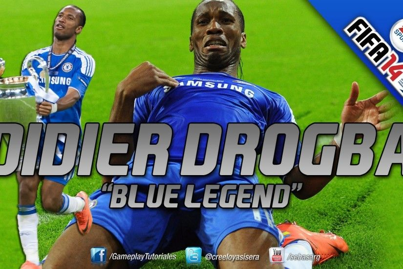 FIFA14 | Didier Drogba Tribute - UEFA Champions League Final - Bayern  Munchen Vs Chelsea - YouTube