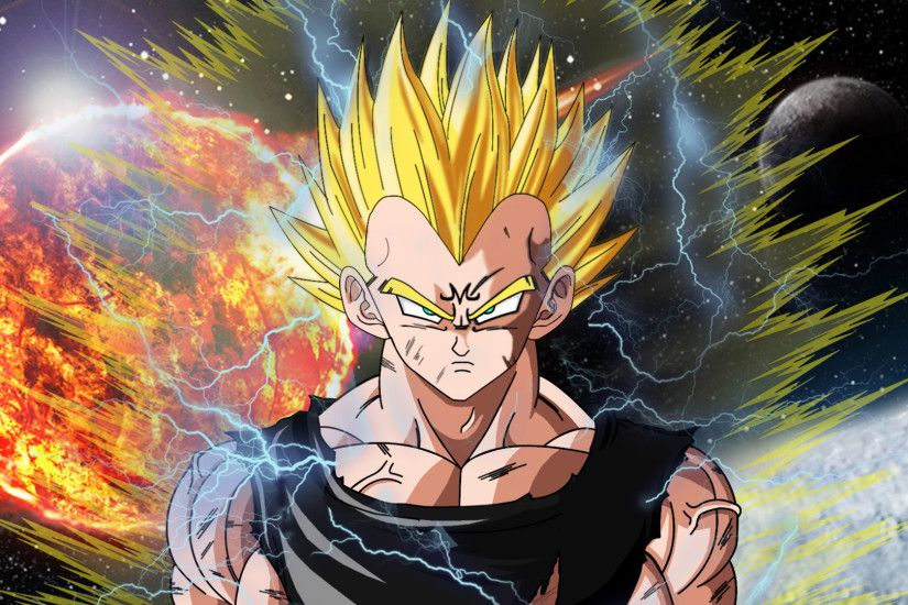 Dragon Ball Z Super Saiyan Vegeta Wallpaper HD 3 - SiWallpaperHD 6175 .