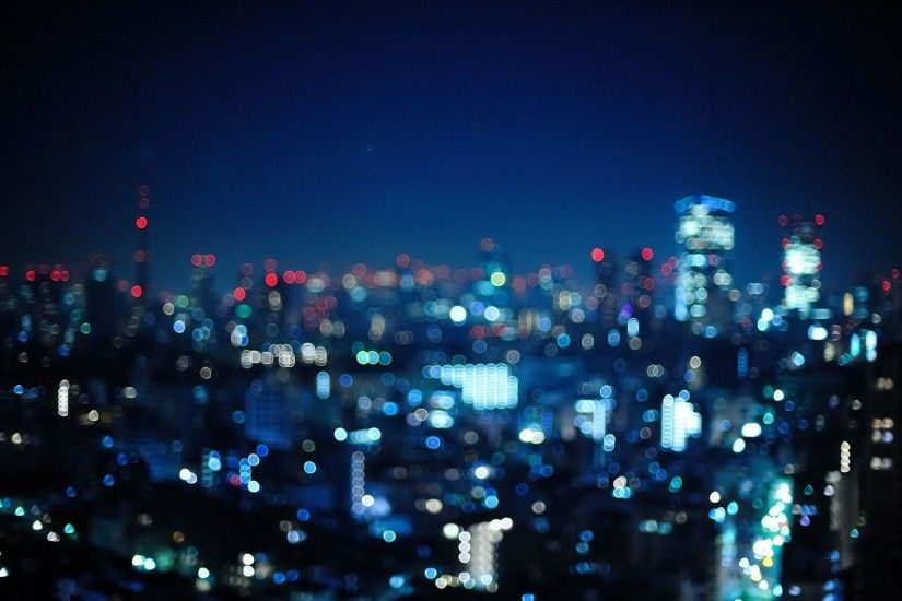 City Lights Image. Background ...