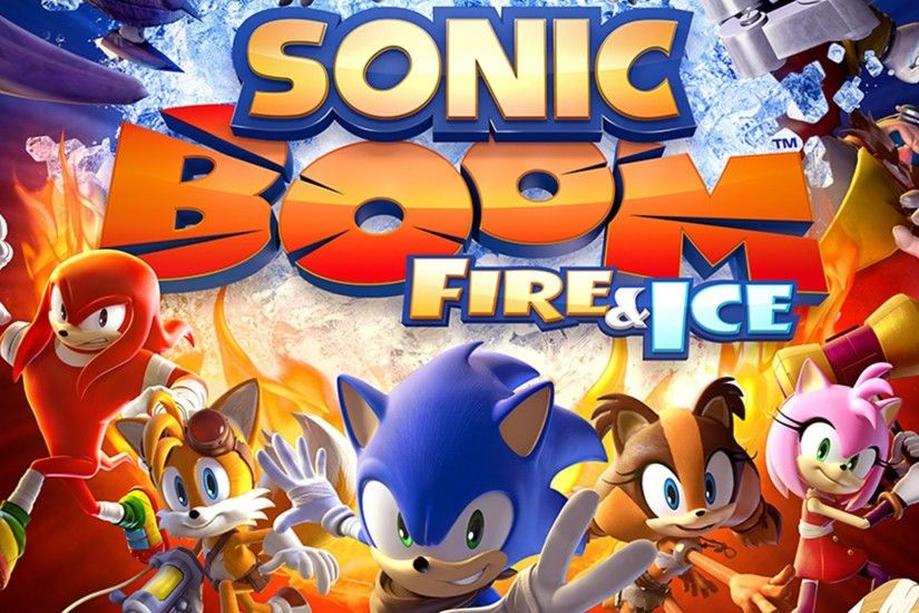 Sonic Boom: Fire & Ice Now Available Exclusively on Nintendo 3DS