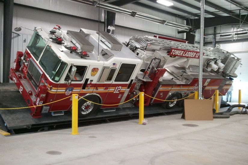 Photo of Seagrave Builds New Indoor Tilt Table and Pump Test Facility