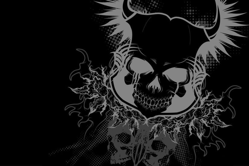 free skull wallpaper for android