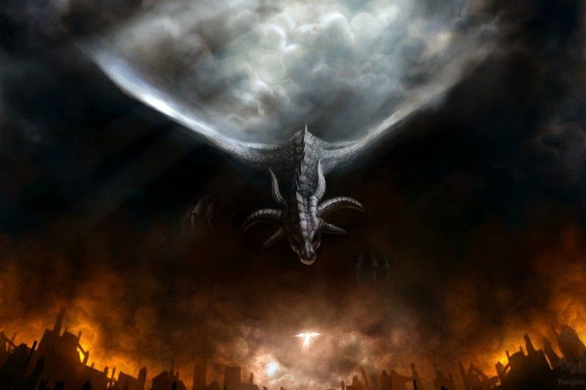 2528x1321 Fantasy Dragon Wallpapers Wickedsa 1920×1080 Black Dragon  Wallpapers HD (43 Wallpapers)