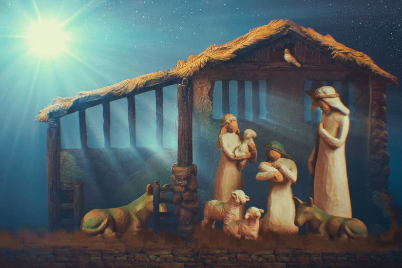 christmas nativity animated looping background Stock Video Footage -  VideoBlocks