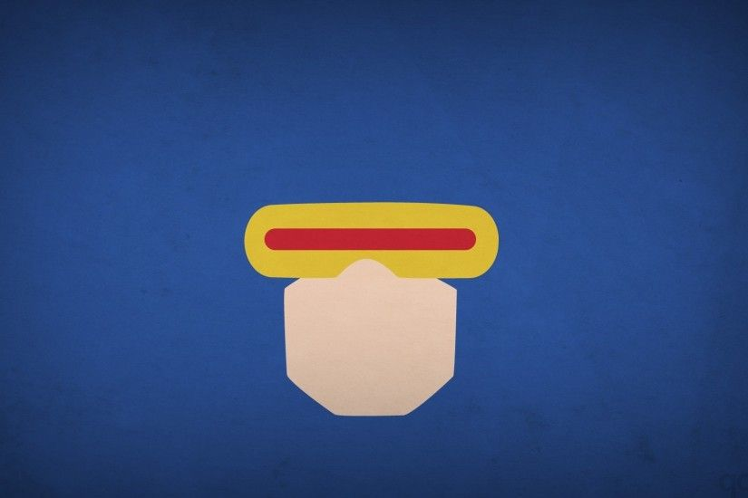 heroes, Minimalism, Cyclops, Blo0p, X Men Wallpapers HD / Desktop and  Mobile Backgrounds