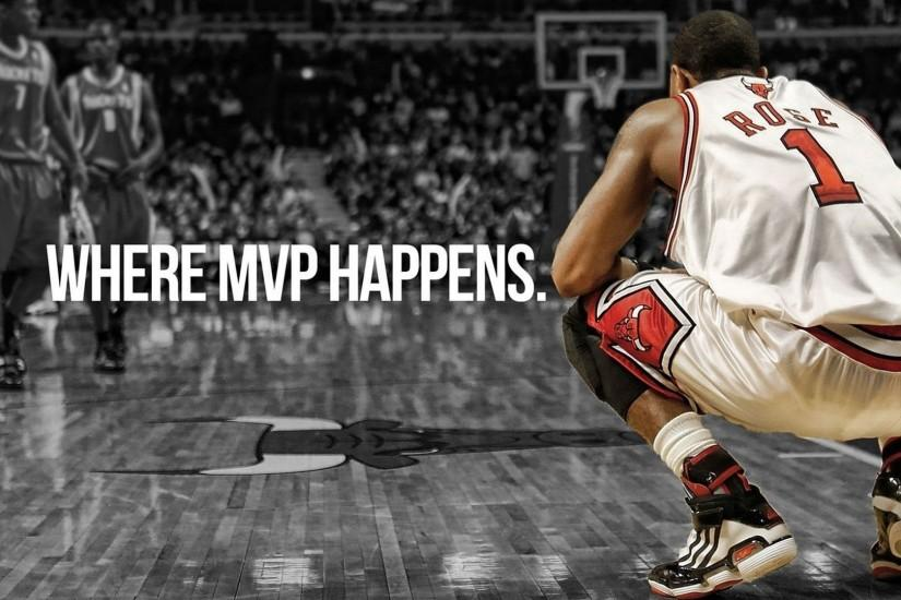 Derrick Rose Mvp Most Valuable Player Basketball FullHD Wallpaper