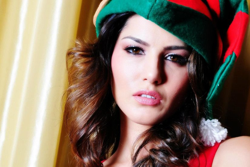 Sunny Leone Beautiful Indian Actress Wallpaper