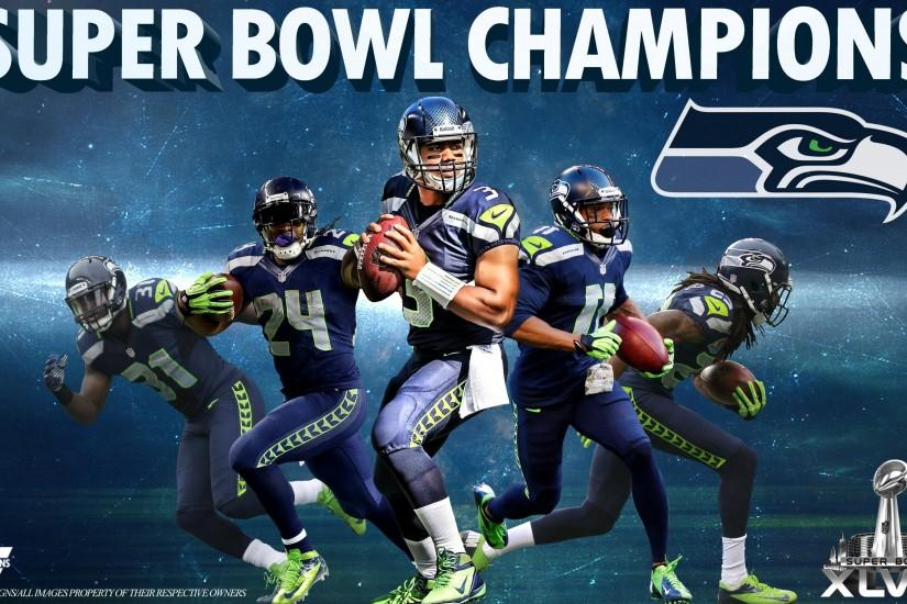 super bowl champions seattle seahawk hd wallpapers