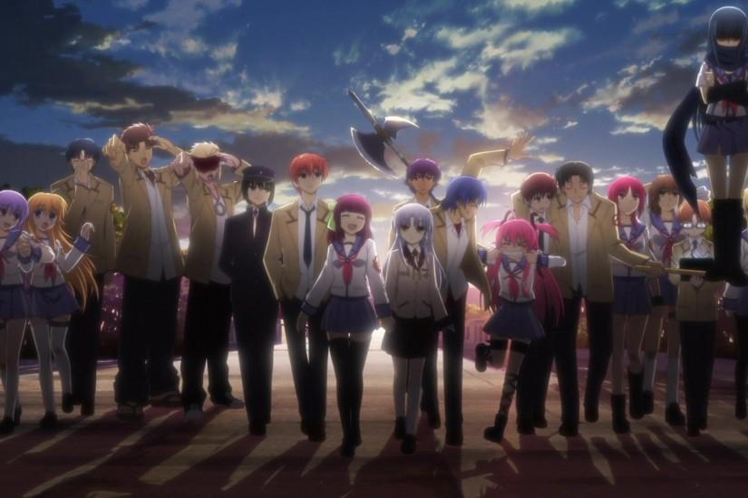 angel beats wallpaper 1920x1080 laptop