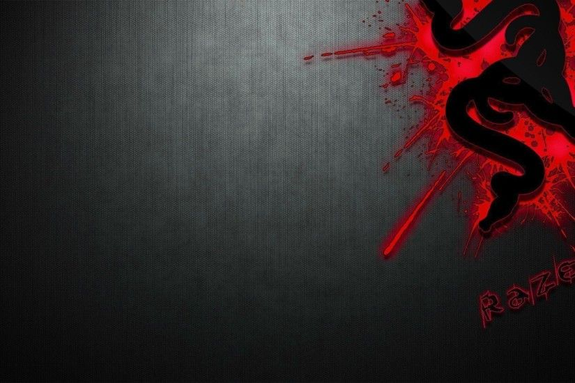 Wallpapers For > Razer Wallpaper 1920x1080 Red