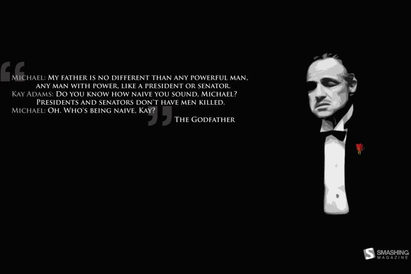 The Godfather - wallpaper HD