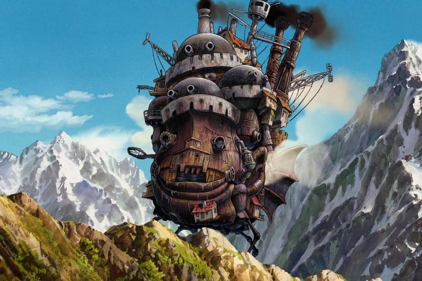 howls moving castle wallpaper 2560x1440 smartphone
