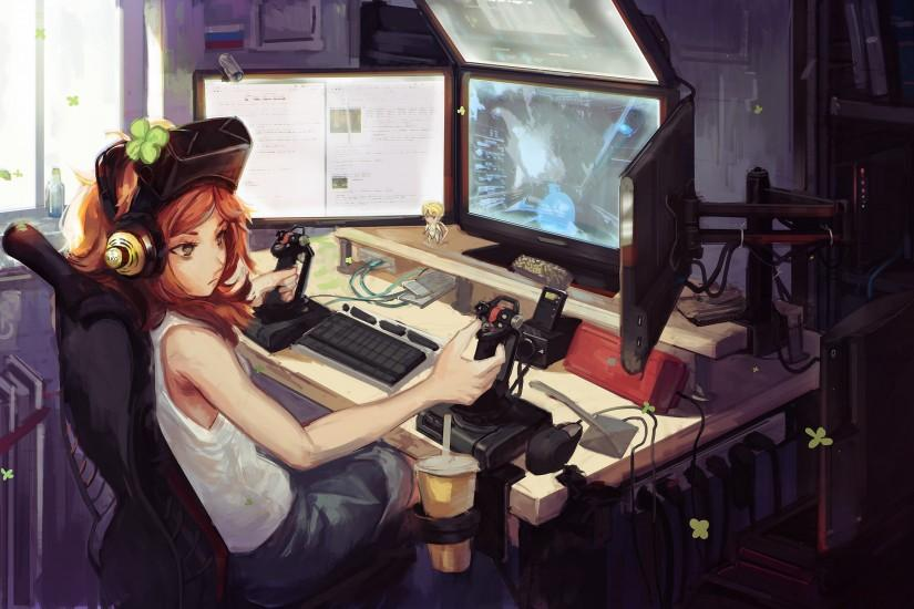 download gamer wallpapers 3004x1567 tablet
