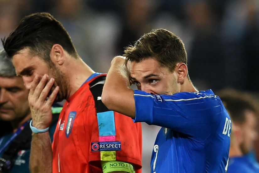 But the defeat ends Buffon's hopes of winning a European Championship with  Italy, having also been on the losing side in 2012 as Spain ran out 4-0  winners.