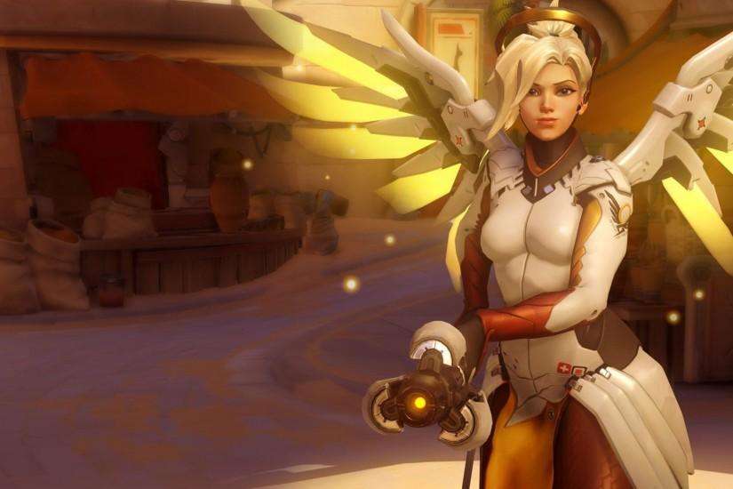 mercy overwatch wallpaper 2048x1152 iphone