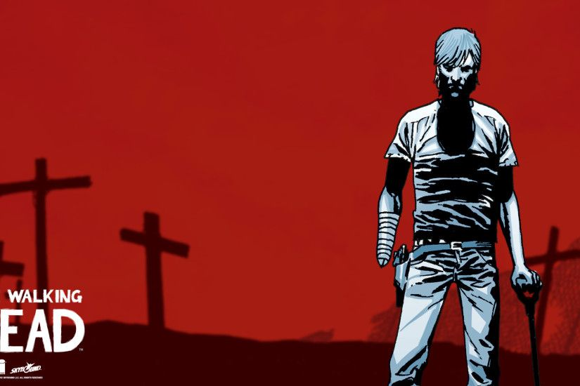 Displaying 16> Images For - Walking Dead Rick Comic Wallpaper.