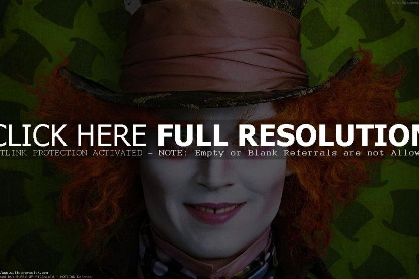 Johnny Depp Alice Through The Looking Glass 2016 HD .