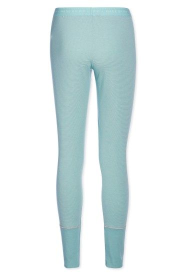 Legging long Stripers blue