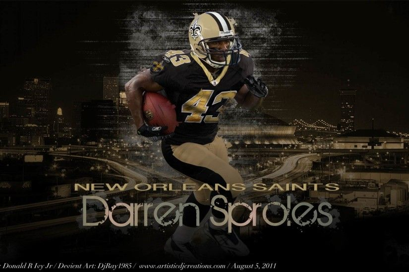 Free Wallpapers - Darren Sproles New Orleans Saints Wallpaper