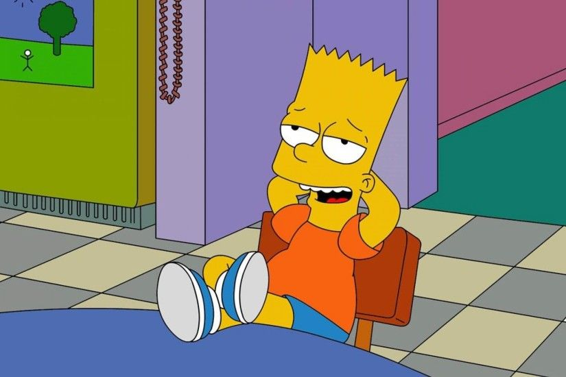 Bart Simpson Wallpaper Hd