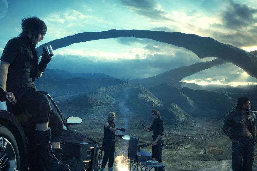 Please be excited, because this time you should! Final Fantasy Type-0 HD  arrives with a playable demo of Final Fantasy XV in March 2015.