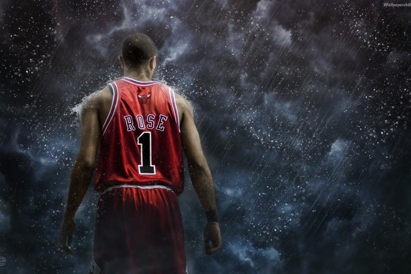 Derrick Rose Chicago Bulls Wallpaper.