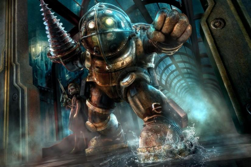 bioshock - Background hd 2560x1440