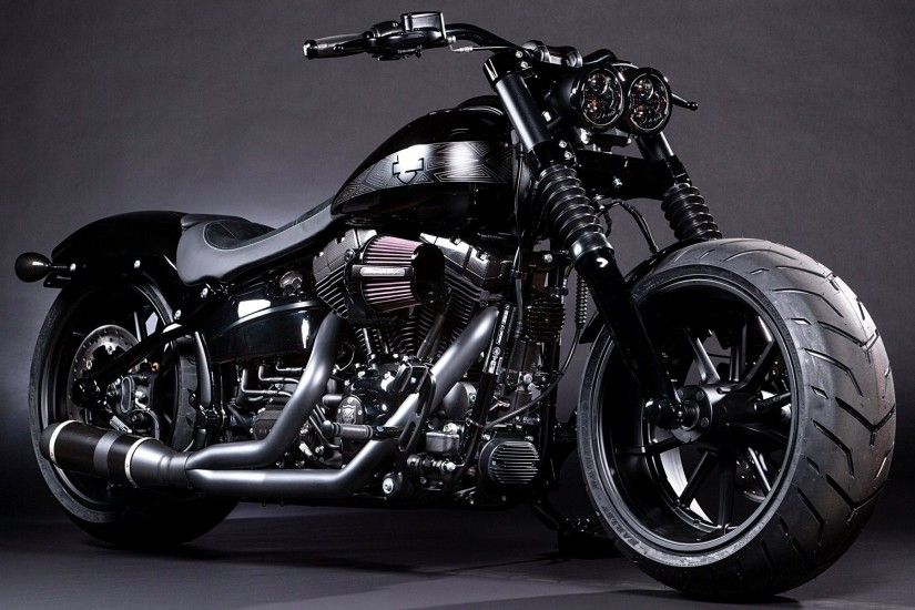Black Panther Breakout Softail