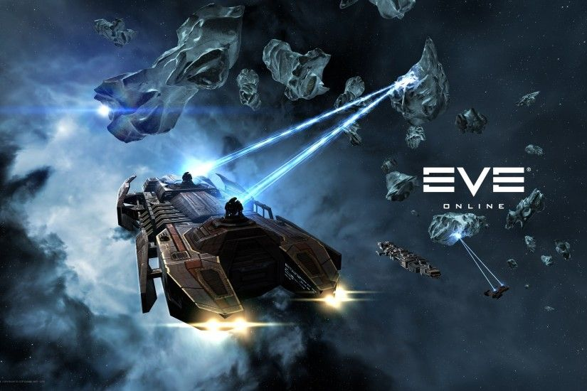 EVE Online, Mining, Space, Spaceship Wallpaper HD