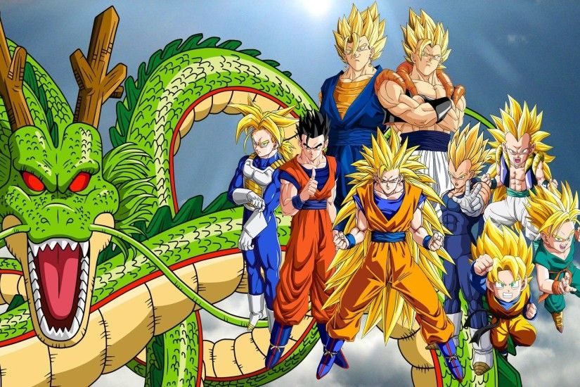 Dragon Ball, Super Saiyan, Trunks (character), Vegeta, Shenron, Gogeta,  Vegito, Super Saiyan 3, Ultimate Gohan, Gotenks Wallpapers HD / Desktop and  Mobile ...