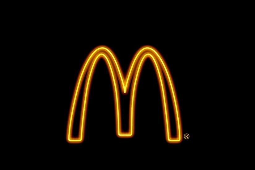 mcdonalds logo background ...