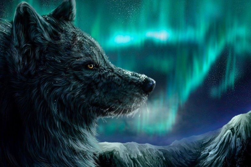 wolf art wallpaper 1080p high quality, 1920 x 1080 (273 kB)
