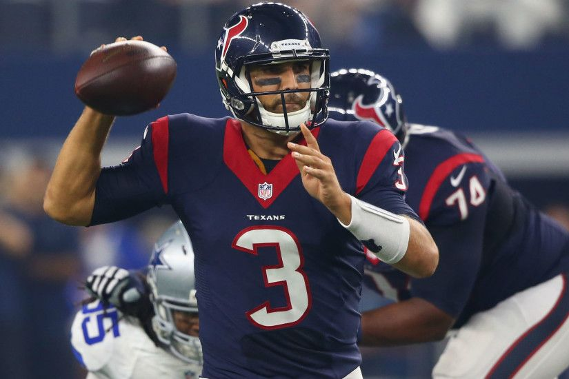 Texans' Tom Savage hospitalized with elbow infection | NFL | Sporting News