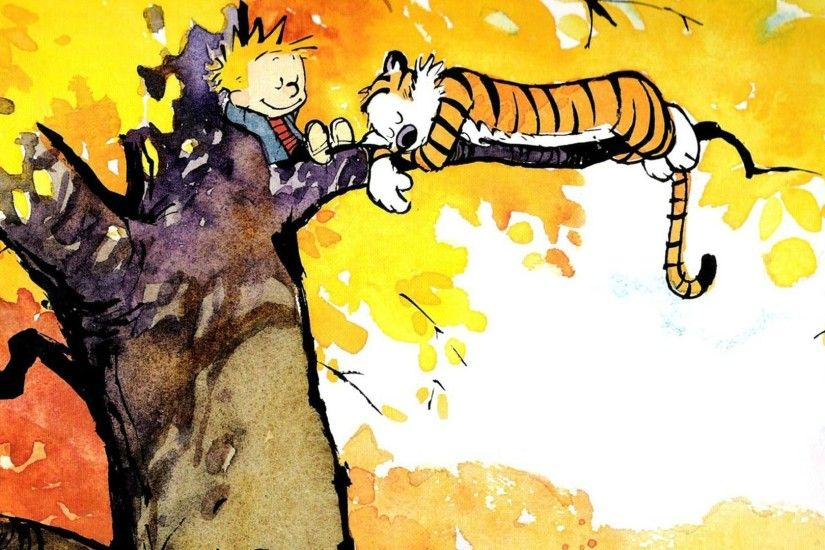 Calvin and Hobbes wallpaper - Comic wallpapers - #14409