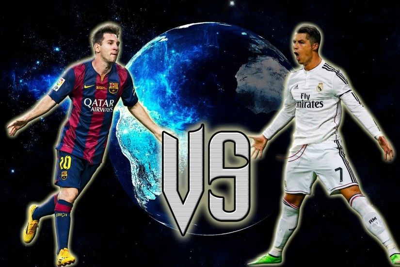 Cristiano Ronaldo Vs Lionel Messi 2017 Wallpapers 7