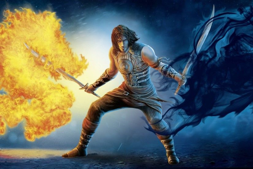 prince of persia the two thrones fire dark art