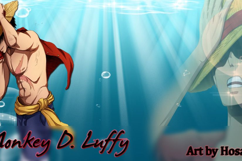 ... Monkey D. Luffy Wallpaper by Hosalex