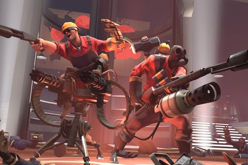 Video Games Artwork Team Fortress 2 Valve Corporation Pyro Engineer ...