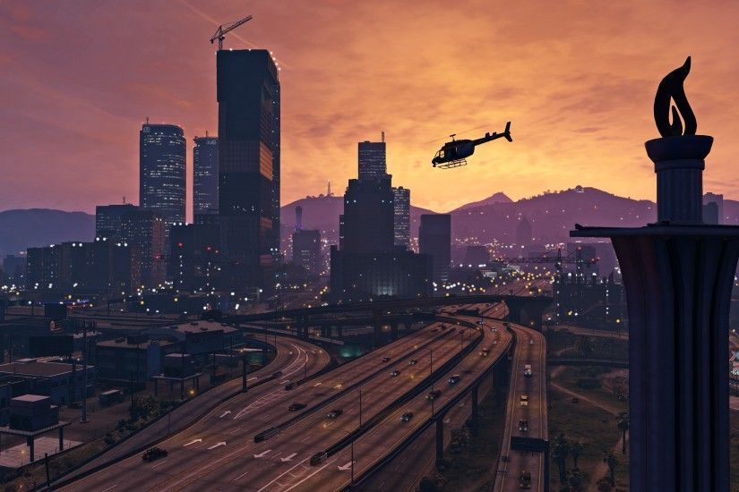 ... grand theft auto v video games pc gaming wallpapers hd desktop ...