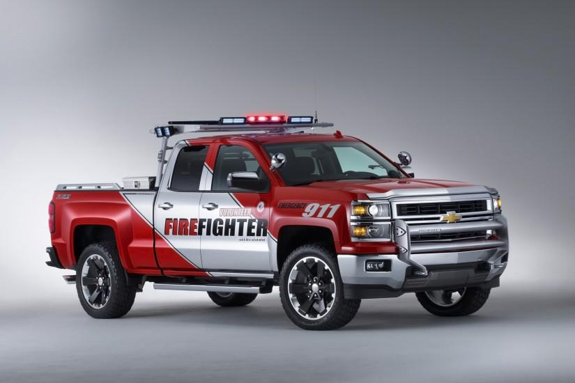 Firefighters Concept firetruck pickup emergency f wallpaper background .