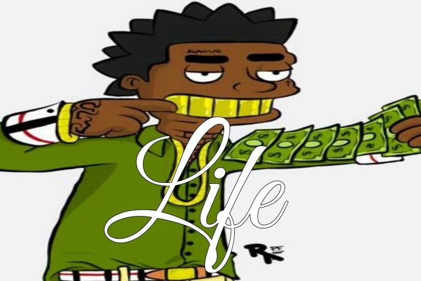 kodak black cartoon wallpaper - photo #6
