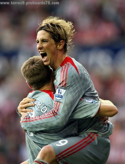 Steven Gerrard And Fernando Torres images Torres & Gerrard HD wallpaper and  background photos