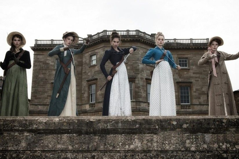 Still from Pride + Prejudice + Zombies | Horror Movie Suggestion by  Horroroids.com