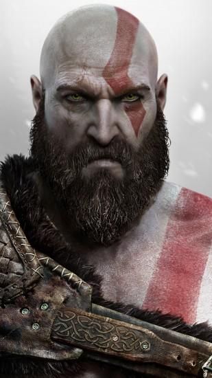 Preview wallpaper god of war, kratos, sony santa monica 1440x2560